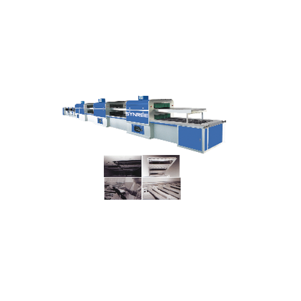 Advanced double layer near infrared production line